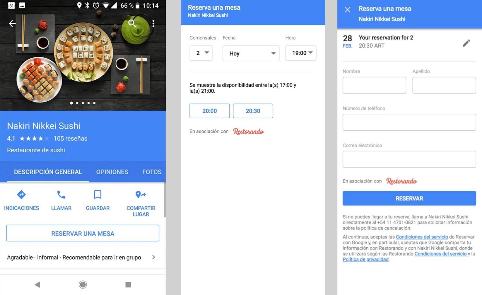 apps que mejoran la gestión en tu restaurante